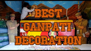 Decoration Themes For Ganesh Festival At Home by Interior Design Best Ganpati Decoration Themes Home Design Great