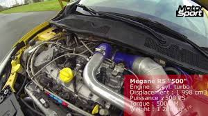 bbc autos with a 500hp renault mégane rs 500 ps insane acceleration motorsport youtube