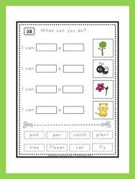 kindergarten reading fun read think and match a fun and