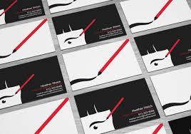 makeup artist business card anna trojanowska portfolio