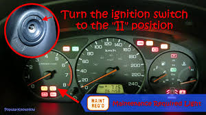 reset maintenance light honda accord diy how to turn off maintenance required light on honda accord