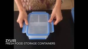 Food Container Storage Zyliss Food Storage Container Review Youtube