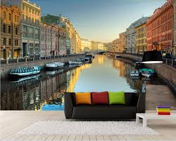 compare prices on scenery wall mural online shopping buy low 3d room wallpaper custom mural european town canal scenery decoration painting 3d wall murals wallpaper for
