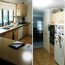 before u0026 after ferny grove revamp kitchen trends