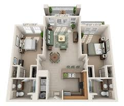 luxury apartment floor plans campus view place