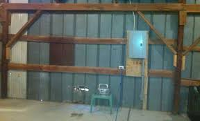Metal Pole Barns Insulation In A Metal Pole Barn Insulation Diy Chatroom Home