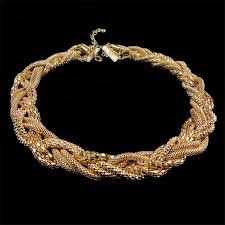 gold braided rope necklace images Fabulous gold rope chain necklace nickel lead free gold chains jpg