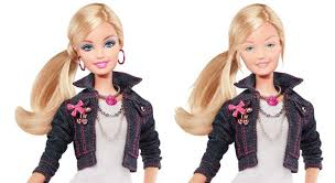 No Makeup Meme - barbie without makeup revealed sort of natural the hollywood gossip