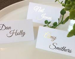 gold place card etsy