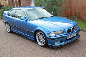bmw e36 m3 estoril blue 1996 bmw e36 m3 evolution car auctions