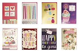 birthday cards assorted handmade embellished cards