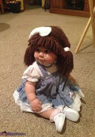Cabbage Patch Kid Halloween Costume Funny Cute Baby Halloween Costumes Cabbage Patch Doll