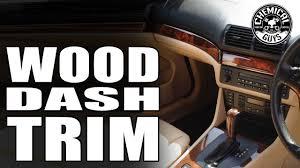 how to polishing wood trim chemical guys car care bmw e39