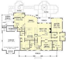 great floor plan even as a one story likes four bedrooms on one