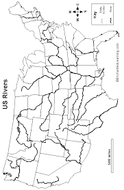 map usa rivers outline map us rivers images thempfa org