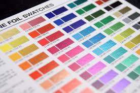 Cmyk Spectrum Inline Foil Printing Options Inline
