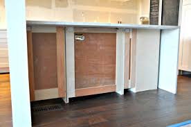 kitchen island panels great kitchen island back panel and finishing the kitchen island
