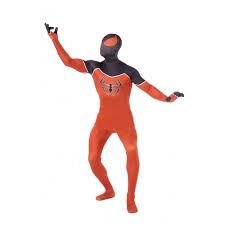 orange spiderman halloween costume cosercosplay com