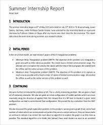 short report example 6 short report examples samples 10 sample