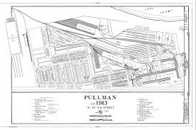 Cook County Illinois Map by Pullman Labor Race And The Urban Landscape In A Company Town