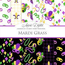 mardi gras paper mardi gras digital paper scrapbook printables carnival