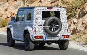 mercedes that looks like a jeep spyshots suzuki jimny looks like a tiny mercedes g class