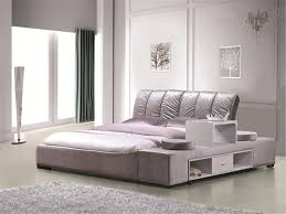 china high quality leather soft bed bedroom furniture china