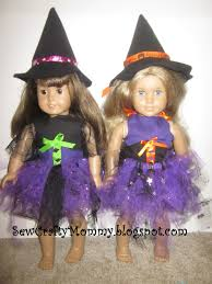 sew crafty mommy american doll halloween
