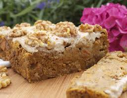 carrot and walnut cake with citrus icing rosanna davison nutrition