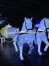 acrylic gifts and crafts 3d led lighted outdoor