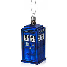 doctor who tardis ornament shop