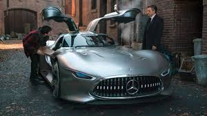 maserati woman bruce wayne to drive mercedes amg vision gt in justice league
