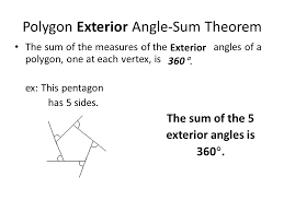 How To Calculate Interior Angles Of An Irregular Polygon Interior Angles Of A Polygon Equation