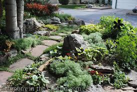 a luscious lawn free rock garden in denver harmony in the garden
