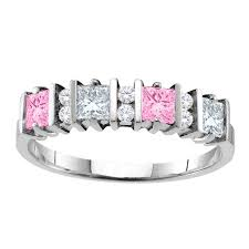 mothers ring 6 stones mothers rings personalizable and engravable jewlr