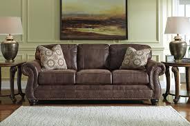 tufted faux leather sofa furniture traditional espresso faux leather nailhead sofa for