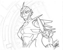 transformer coloring pages arcee transformers prime yukinyon deviantart 140554 coloring