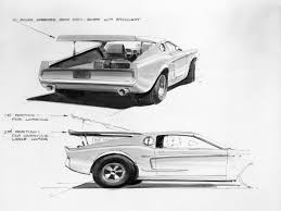 design history ford mustangs that never were car body design