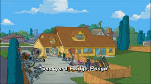 image backyard hodge podge title card jpg phineas and ferb