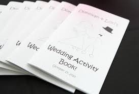 7 images free printable wedding coloring activity book