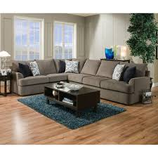 Gray Sectional Sofa Furniture Overstuffed Sofa Simmons Couch Gray Sectional Sofa