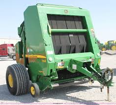 2009 john deere 568 round baler item g5739 sold june 26
