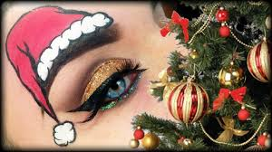 funny christmas makeup tutorial trucco natale youtube