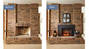 Electric Fireplace Insert A Guide To Convert A Gas Fireplace To An Electric