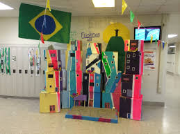 christmas hallway decorating ideas polar express classroom