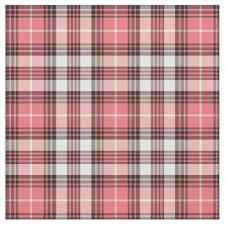 pink tartan pink tartan fabric zazzle co uk