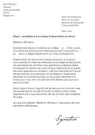 11 Exemple De Cv 3eme 11 Lettre De Motivation Stage 3eme Hopital Exemple Lettres