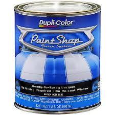 duplicolor paint shop deep blue metallic 32 oz quart bsp204