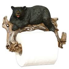 Animal Toilet Paper Holder Relaxing Bear Toilet Paper Holder