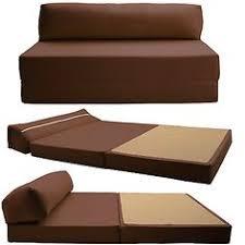 folding foam sofa bed black sleeper chair folding foam bed sized 6 thick x 32 wide x 70